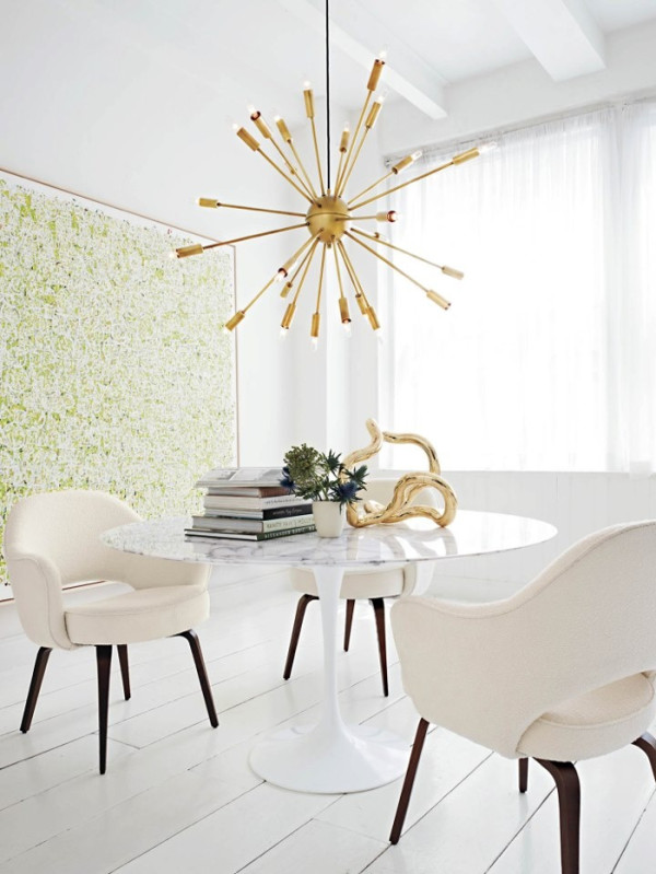 how to decorate with brass