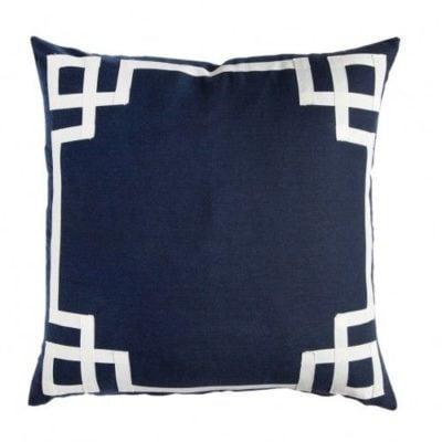 Fabulous navy pillow finds {study update}