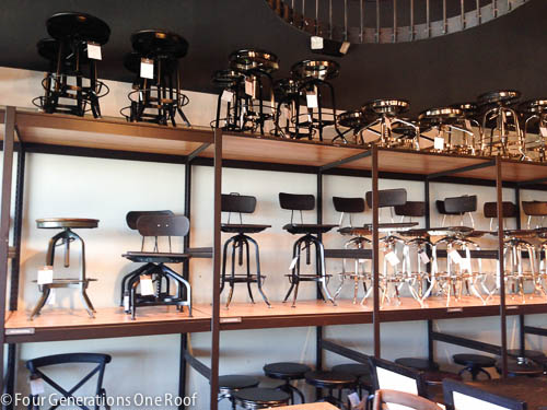 My Trip To The Restoration Hardware Outlet Boston Four Generations One Roof