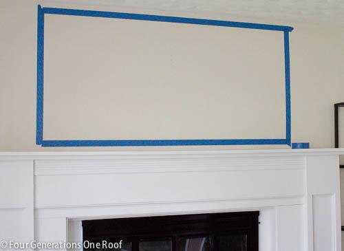 Painted DIY wall art-2