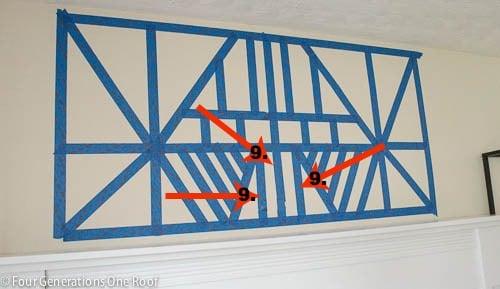 diy painted wall art