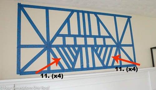 painted diy wall art