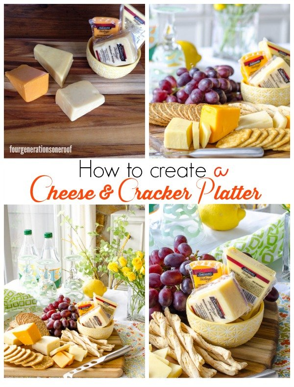 how to create a cheese and cracker platter
