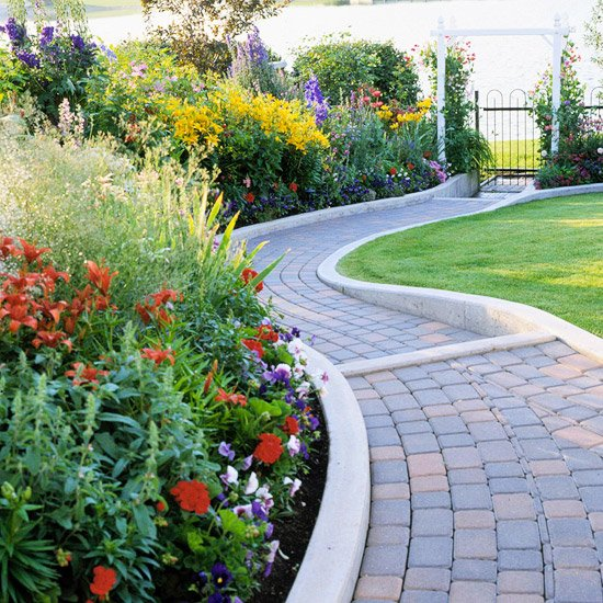 Ideas For Flower Bed Borders: Four Generations One Roof