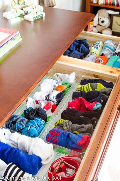 Organization In My Son S Dresser Nasty Four