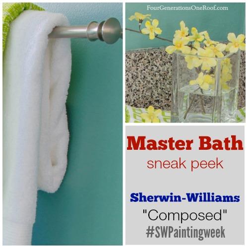 master bath sneak peak