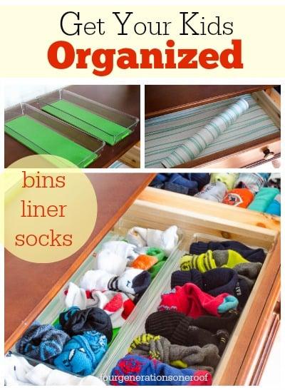 organization kids dresser drawer