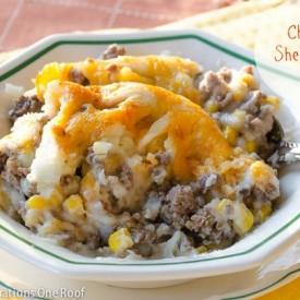 cheesy shepherd's pie