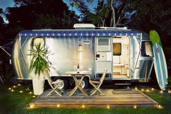 Deck Ideas Camper Airstream