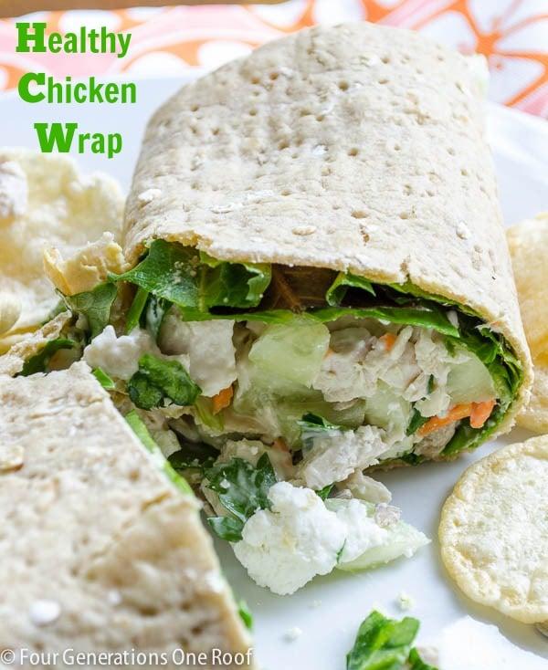favorite chicken wrap