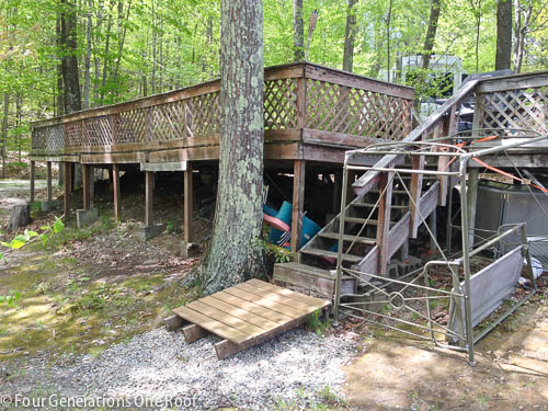 our campsite and home for the summer-6