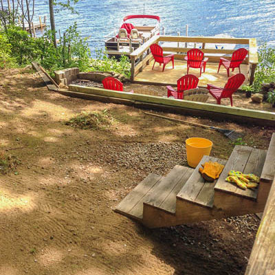 Spending the day at the lake {instagram favorites}