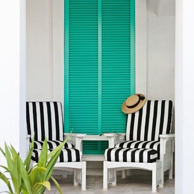 Colorful Outdoor Accents {lets play with color!}