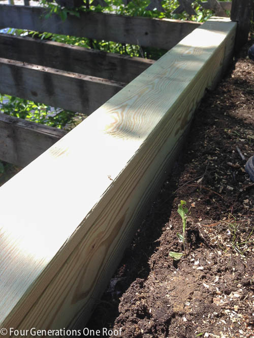 building a deck lake campsite summer project