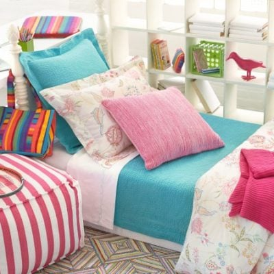 Girls Back To School Bedding + Pine Cone Hill bedding giveaway