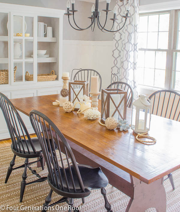 Summer Dining Room update