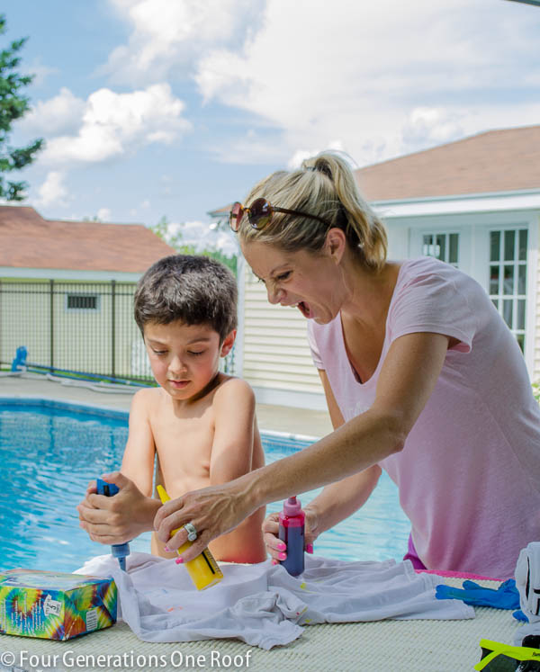 summer pool fun with HTH