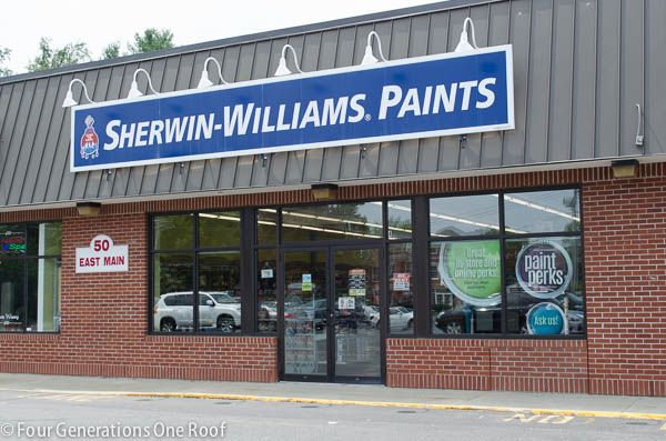 Why I love my Sherwin Williams store