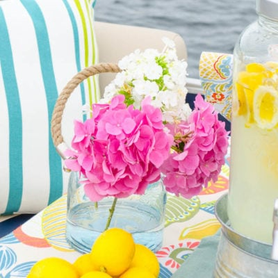 How to have a lemonade stand {on our boat!}