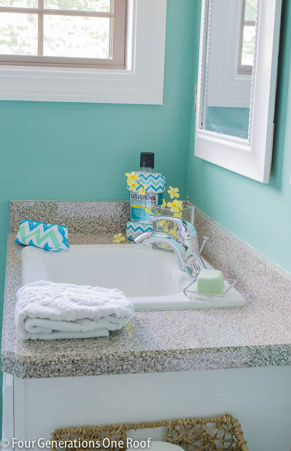 mini bathroom makeover listerine-6
