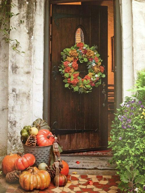 Front door ideas for fall