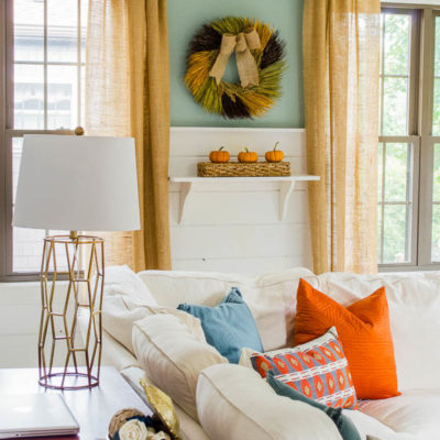 Fall decorating ideas – resource list {Fall Home Tour}