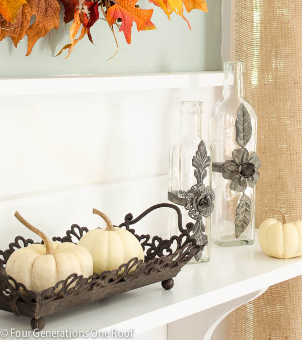 Instagram Fall Decorating Ideas: Fall Decorating Ideas {Glass Vases}