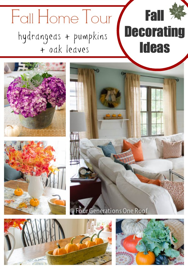 fall decorating ideas pretty fall home tour