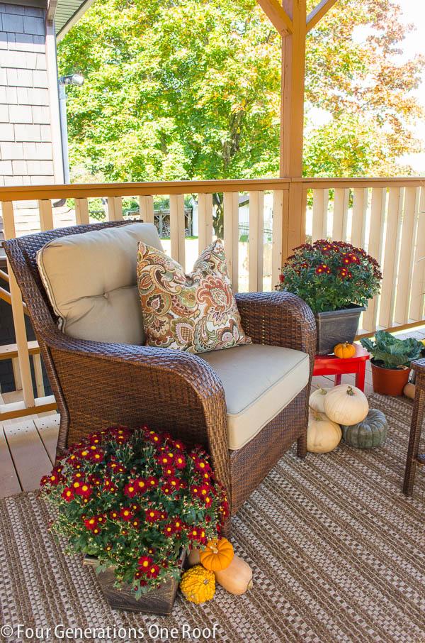 Fall decorating homegoods winner four generations one for Home goods fall decorations