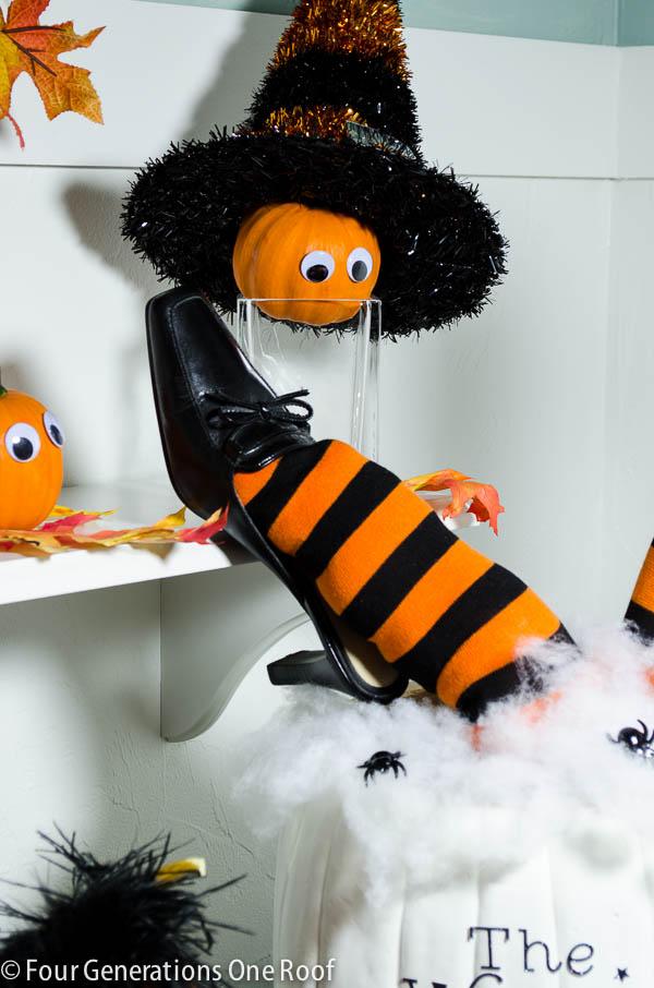 cute diy halloween pumpkin 30 minutes or less + tutorial