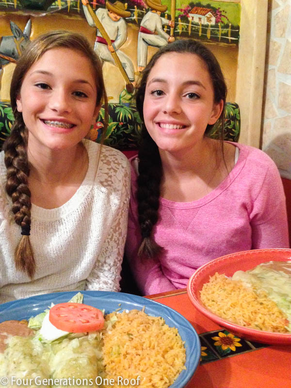 Family Mexican Night Dinner With Groupon And Help Feed America