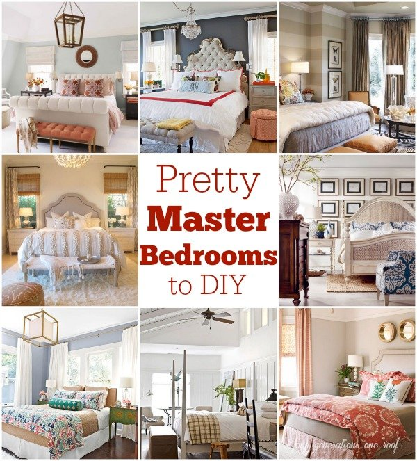 gorgeous master bedrooms that you can DIY - easy tips and tricks that you can implement in your bedroom