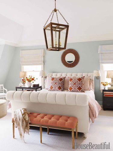 gorgeous master bedrooms bench