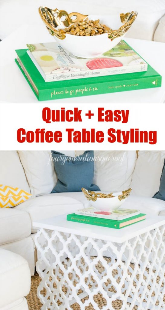 Quick Decorating Ideas Mesmerizing Of Coffee Table Decorating Ideas Pictures
