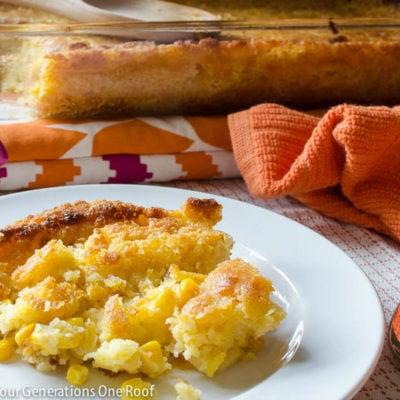 Best Corn Casserole Recipe