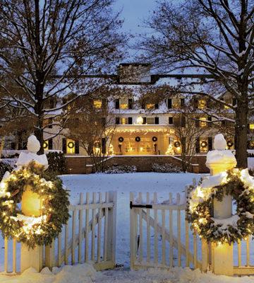 WoodStock Inn Vermont holidays