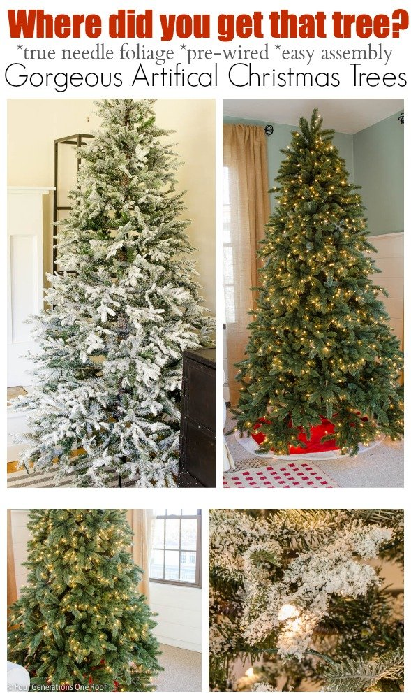 where to buy a gorgeous artificial christmas tree - Where To Buy Christmas Tree