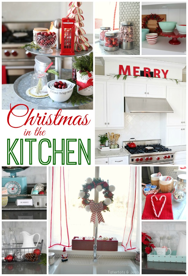 Christmas in the kitchen 40 ways to make yours festive for Christmas kitchen decor