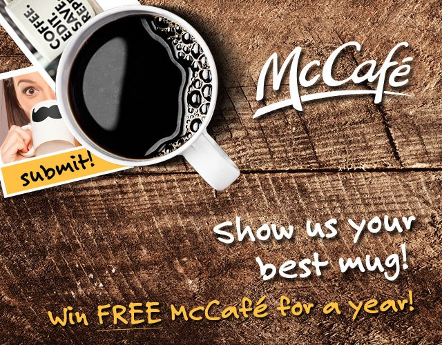 McCafe Coffee contest