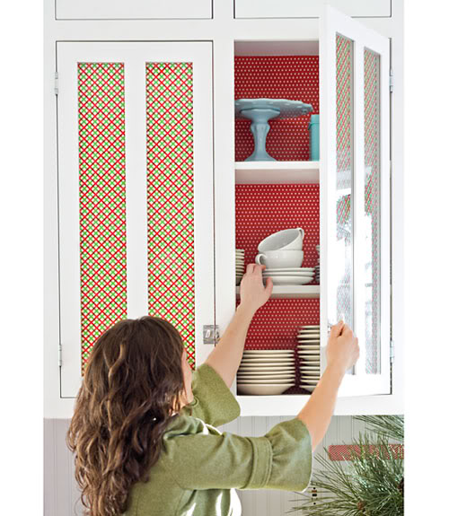 gift-paper-wrapped-cabinets