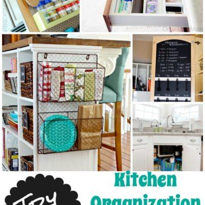 Try This: 9 DIY Organization Kitchen Tips