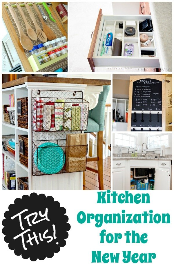 Try This 9 Diy Organization Kitchen Tips Four