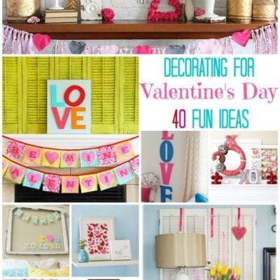 Decorating for Valentine's Day: 40 Ideas for Your Home
