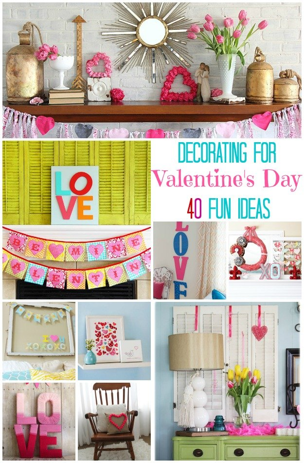 Decorating for Valentine\'s Day: 40 Ideas For Your Home