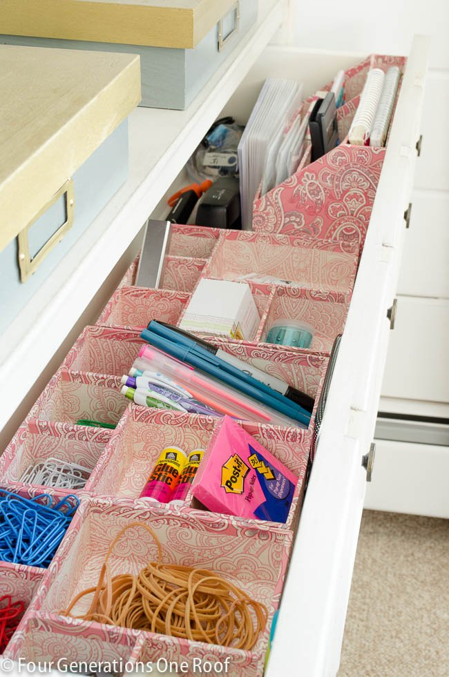 Office drawer organization-11