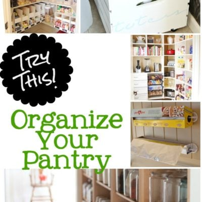 Try This: 8 Ideas Pantry Organization Tips