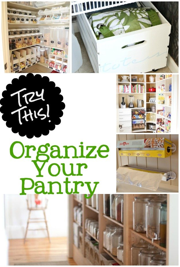 Try This Pantry Organization