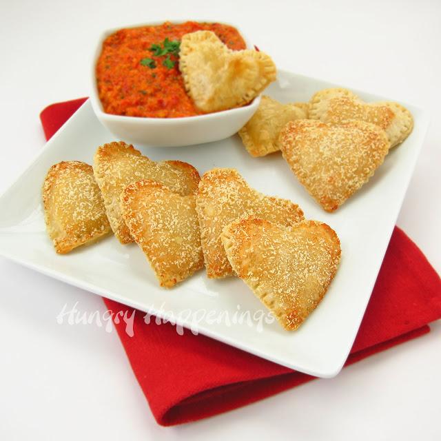 mozzarella-hearts-with-pesto