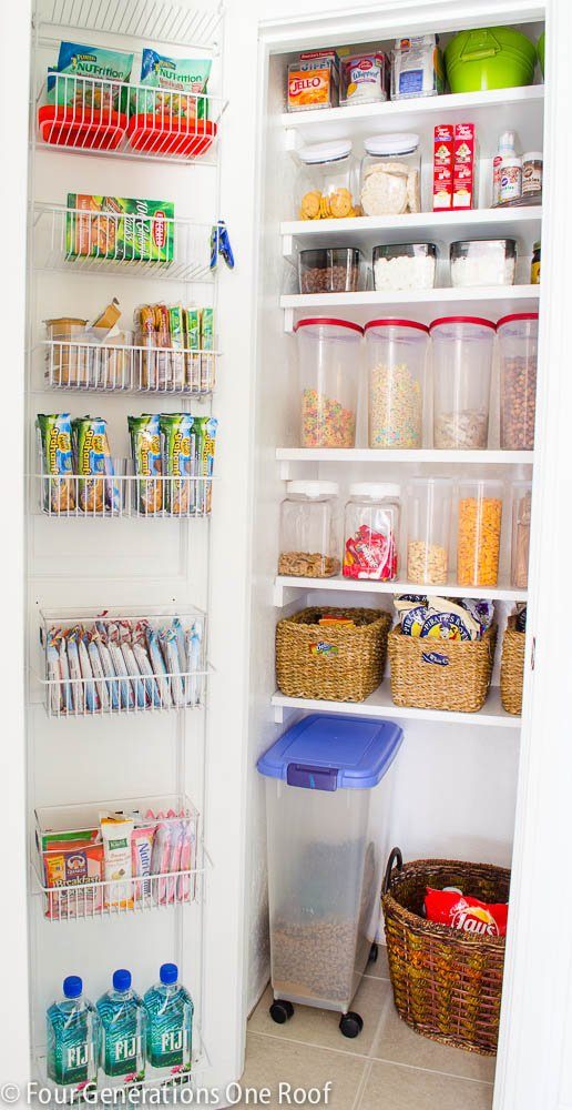 Kitchen Pantry Organization Tips Try this 8 ideas pantry organization tips four generations one roof organized pantry workwithnaturefo