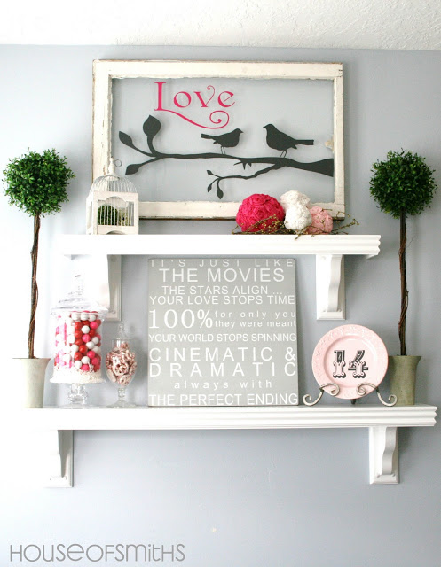 Decorating for valentine 39 s day 40 ideas for your home for Home decorations for valentine s day